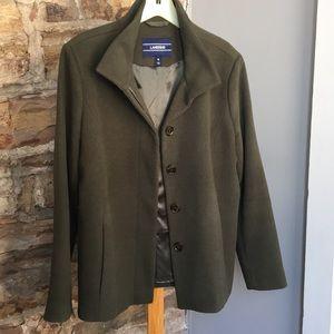 Olive-green jacket